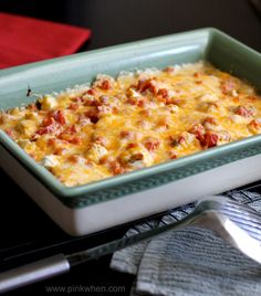 A delicious and easy Homemade King Ranch Chicken Casserole.