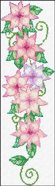 free chart flowers