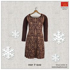 Welcome #winters with this #warm sweater, specially tailored for #You.