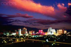 Beautiful Reno, NV Skyline