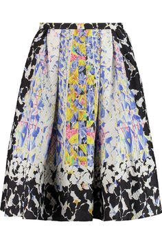 Emma silk-blend jacquard skirt | Peter Pilotto | THE OUTNET