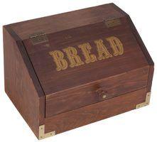 An oak breadbox can last a lifetime.