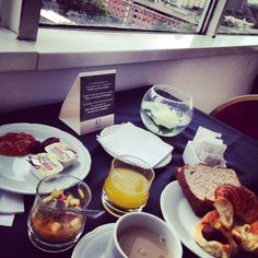 Breakfast with Puerto Madero View