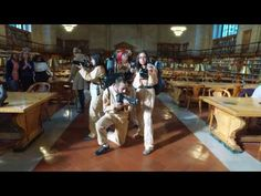 The New York Public Library Takes On the Mannequin Challenge: VIDEO | GalleyCat