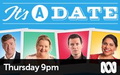It's A Date is back with a second series of laughs, romance and misadventure as an all-star cast navigate the speed bumps of the dating world. Speed Bump, Dating World, Star Cast, Romance, Tv, Romance Film, Romances, Television Set, Romance Books