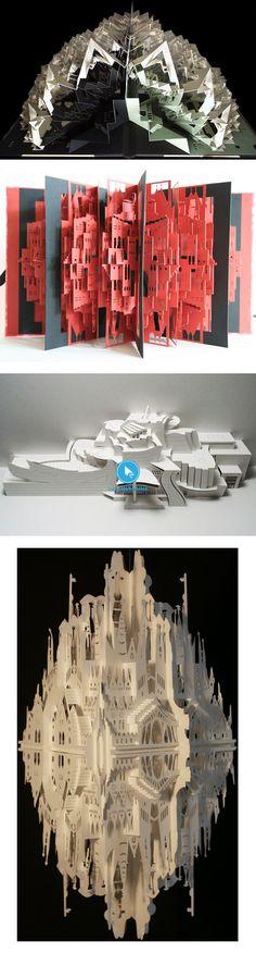 100 créations uniques à découvrir sur l'art du papier ! - graphisme