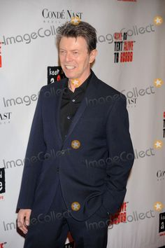 Singe David Bowie attends Keep A Child Alive's 5th Annual Black Ball held at the Hammerstein Ballroom on November 13, 2008 in New York City.
