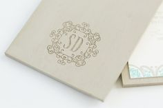Yonder Design | Neutral Wedding,  Cabo Iron, Cabo Wedding, Tan and Turquoise, Linen Invitation, Custom Invitation, Luxury Wedding, Colorful Invitation, Neutral Wedding, Modern Wedding, Monogram