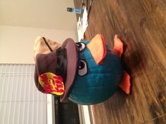 Perry the Platypus from the Phineas and Ferb tv show