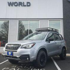This Subaru Forester is available at @worldsubarunj ! --- @bfgoodrichtires / @methodracewheels --- #lpaventure #liftkit #methodracewheels #bfgoodrichtires #worldsubaru #subaru #forester #lifted