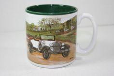 1920 Ford Model A Vintage Coffee Mug by Flowers Inc (1993) #684000