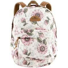 Women's O'Neill Beachblazer Backpack (2.720 RUB) ❤ liked on Polyvore featuring bags, backpacks, multi, beach bag, white bag, rucksack bags, cotton canvas backpack and knapsack bag