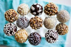 Cake Pops (LCHF, GI, Low Carb)
