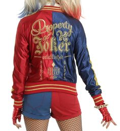The iconic jacket to make you feel like the authentic Harley Quinn. | 16 Pieces Of Harley Quinn Swag You'd Be Crazy Not To Buy
