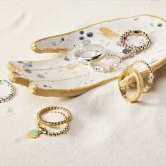 Karma has landed. Discover our beautiful new Sterling Silver, Gold and Rose Gold jewellery, taking inspiration from the cosmic law and transforming it into a warm, loving collection full of positivity and tranquillity. Stackable Bracelets, Stacking Rings, Bangle Bracelets, Bangles, Rose Gold Jewelry, Gold Jewellery, Cosmic, Karma, Annie