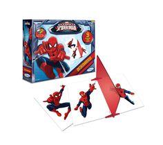 2004.3 - Desenhando Spider-Man Ultimate | Vem acompanhado de folhas guias, giz de cera, bloco de papel, lápis, borracha, espelho de poliestireno cristal e caneta hidrocor preta. O brinquedo instiga a criança a desenvolver as habilidades manuais, imaginação e criatividade.| Faixa etária: + 4 anos | Medidas: 26,5 x 4 x 20,5 cm | Licenciados | Xalingo Brinquedos | Crianças