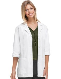 Buy Cherokee Women Two Pocket 30 inch Short Medical Lab Coat for $18.95