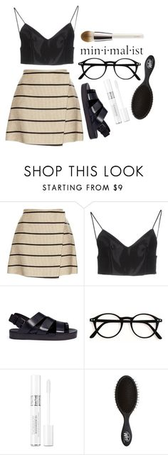 """""""Minimalist"""" by kathrynesker ❤ liked on Polyvore featuring MSGM, Alexander Wang, Marsèll, Christian Dior and La Mer"""