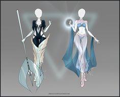 Aquatic/Mermaid Selva designs