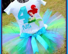 Minnie Mouse cumpleaños número camiseta y Set de por SewCuteJust4U