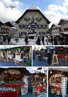 Austrian Christmas Markets - visited the markets in Vienna and Salzburg this past November.  So enchanting.