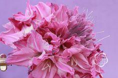 Composite bouquet floral design by Svetlana Chernyavsky. #glamelia. #pink #bouquet