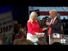Donald Trump Town Hall with Sarah Palin & Chris Christie • Tampa FL • 14 March 2016 https://www.youtube.com/watch?v=5VVTbiEnXno ....... •Sarah Palin Isn't Going to the GOP Convention After Being Snubbed as His Choice for VP http://us.blastingnews.com/news/2016/07/sarah-palin-refuses-to-attend-gop-convention-after-vp-snub-by-donald-trump-001015151.html