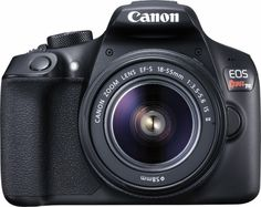 Okay...I know, but ultimate want. #1 want....it's beautiful Canon - EOS Rebel T6 DSLR Camera with EF-S 18-55mm f/3.5-5.6 IS II Lens - Front Zoom