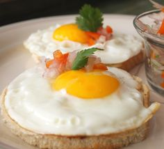 Whenever I think about having eggs for breakfast or brunch, this easy dish comes to my mind. This is also my friend Thelma´s favorite lunch when she feels like having something quick and super light. Huevos a la Rabona consist of sliced and golden-fried bread, a sunny-side-up egg on each slice, and a topping of onion and chili pepper. Simple and delicious.  Food historians say that this was a war-time dish, prepared by the soldier´s women during the war against Chile, more than a century…