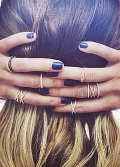 Hair, nails & rings.....Mandy & such