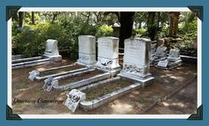 "Dawning Genealogy: Tombstone Tuesday ~ The Family of Frederick A. R. & Mary ""Mamie"" (Dieter) Schwarz ~ Bonaventure Cemetery, Savannah, Georgia #genealogy"