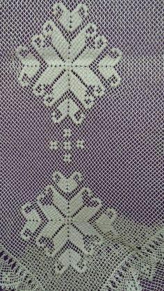 Sergimizden Needle Lace, Needle And Thread, Bargello, Maya, Knots, Needlework, Bohemian Rug, Crochet Patterns, Blanket