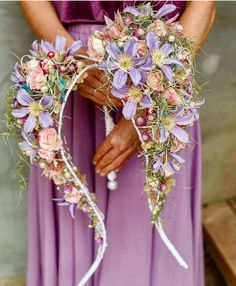10 Ridiculous Ideas Can Change Your Life: Wedding Flowers Eucalyptus Succulents boho wedding flowers shabby chic. Purple Wedding Centerpieces, Spring Wedding Bouquets, Modern Wedding Flowers, Purple Wedding Flowers, Rustic Wedding Flowers, Wedding Flower Arrangements, Trendy Wedding, Orange Wedding, Chic Wedding