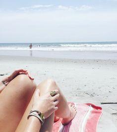 Ice Mint Leather || Brass || Beach || Sand || Summer || Breathe || JoJo Wrap