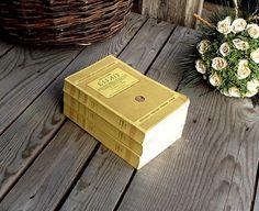 French Antique Books - Les Essais - Essays - MONTAIGNE - 3 Volumes - Edition GARNIER - 1948 - Yellow Cover