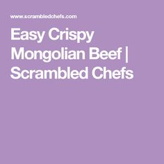 This Mongolian beef recipe is super easy to make and uses simple, readily available ingredients! Healthy Cooking, Cooking Recipes, Skillet Recipes, Cooking Food, Mongolian Beef Recipes, Beef Strips, Chicken Asparagus, Thai Chicken, Beef Dishes