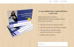 Zdeňka Slaninová a její ebook ZDARMA: 2+1 tip na RENDEZ-VOUS s FRANCOUZŠTINOU v online světě