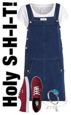 """""""♡Goonies♡"""" by deliag ❤ liked on Polyvore featuring Sperry Top-Sider, mbyM, MiH Jeans, Vans, women's clothing, women's fashion, women, female, woman and misses"""