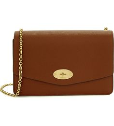MULBERRY Postman's lock grained leather shoulder bag
