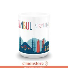 'Istanbul Skyline Mug' is now avaliable in our shop. For more info, click the link in the bio . . . . more at www.cmonstore.com #travel #travelling #travelingram #traveller #tourist #igtravel #instatraveling #tourism #visiting #mytravelgram #instapassport #traveler #instago #traveltheworld #travelblog #travels #travelpics #travelphoto #travelblogger #travellife #backpacking #traveladdict #travelbug #traveldiaries #ilovetravel #instatravelling #europe #backpacker #holidays #getaway..