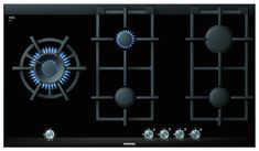 Buy Siemens Gas Hob, Black Glass from our Hobs range at John Lewis. Laundry Appliances, Kitchen Appliances, Electrical Appliances, Cooktops, Modular Design, Glass Ceramic, Trends, Black Glass, New Kitchen