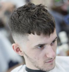 Texture Crop haircuts for male