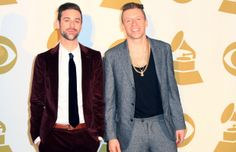 Macklemore & Ryan Lewis, the duo won big in both style and music at the 56th #GRAMMYs