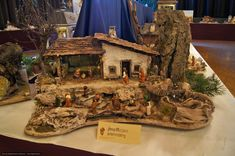 Nativity Creche, Wood Art, Galleries, Projects To Try, Seasons, Inspiration, Birth, Nativity Scenes, Miniatures