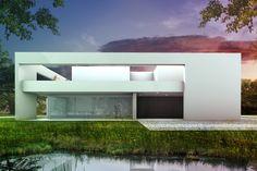 Sky Frame House, Voorschoten, 123DV Moderne Villa's