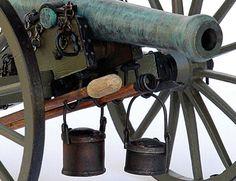 Guns Of History Napoleon Cannon 12-lbr 1:16 Scale