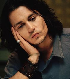 johnny depp, it must be tiring being so beautiful.