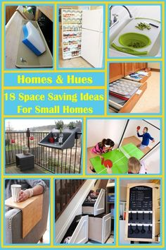 18 Space Saving Ideas Perfect for Any Small Home - Homes and Hues