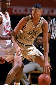 Tim Duncan went to Wake Forest & drafted by San Antonio Spurs