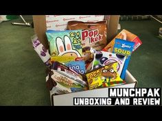 MunchPak Unboxing and Review!